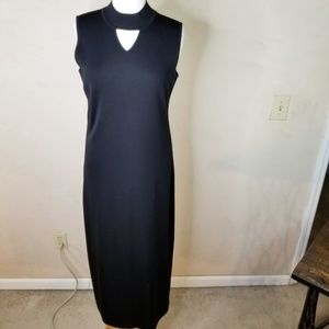 Exclusively Misook Black Maxi Dress Medium
